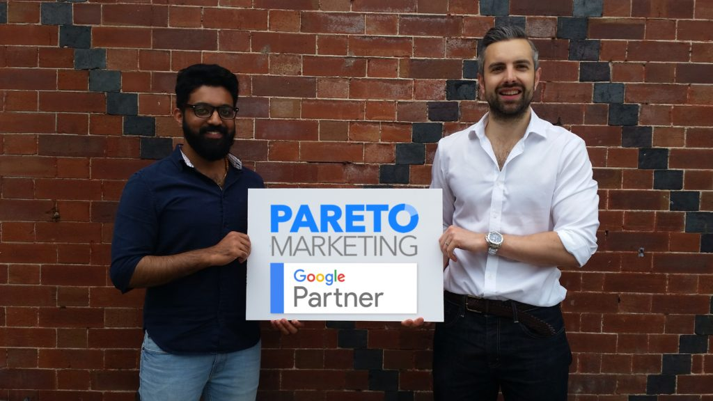 Pareto Marketing Google Parter